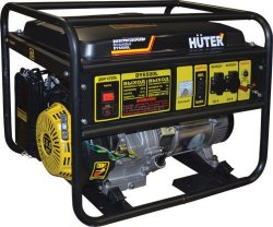 Huter DY6500L Бензогенератор