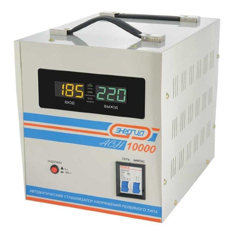 Купить Энергия ACH-10000 Однофазный стабилизатор напряжения по цене 9 750 руб. в интернет магазине E-tool.ru